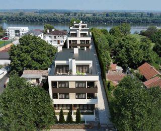 Novogradnja Zemun, Luksuzni kompleks - Dunavska trilogija