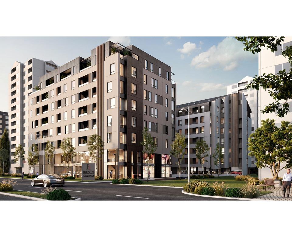 Novogradnja Medijana - Stambeni objekat u ulici Bulevar Nemanjića bb - Niš