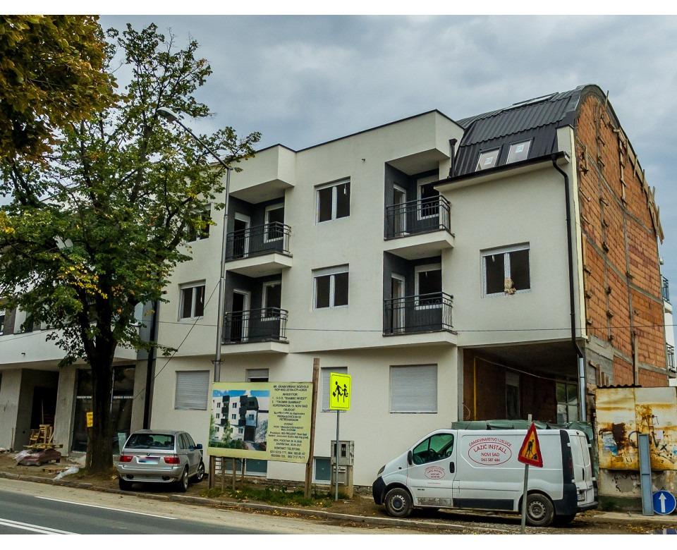Novogradnja Novi Sad - Stambeno poslovni kompleks u ulici Preradovićeva 62, Petrovaradin