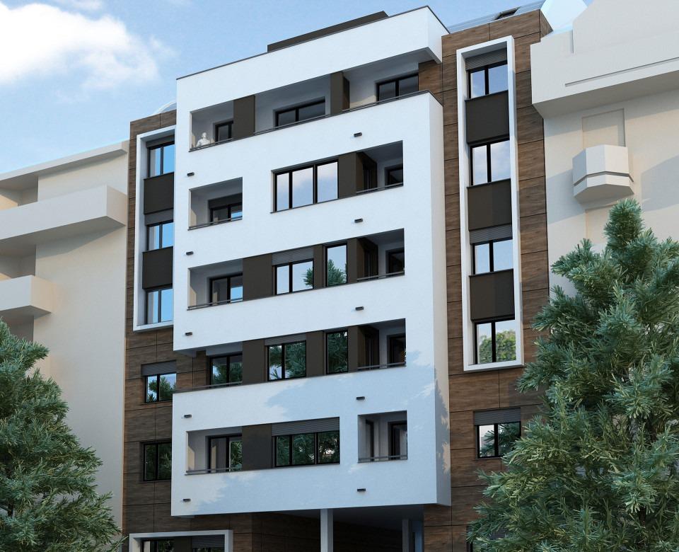 Novogradnja u Novom Sadu - Stambeni objekat Tolstojeva 14, Grbavica, Novi Sad