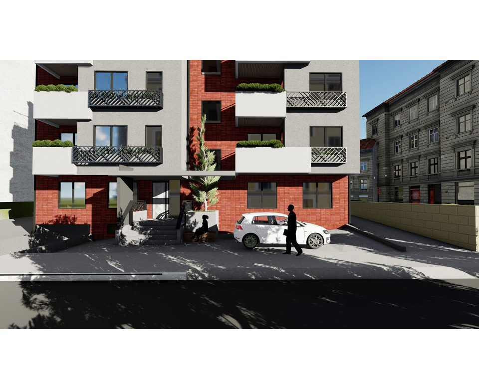 Novogradnja na Voždovcu - Nova zgrada u Ljube Šercera 10