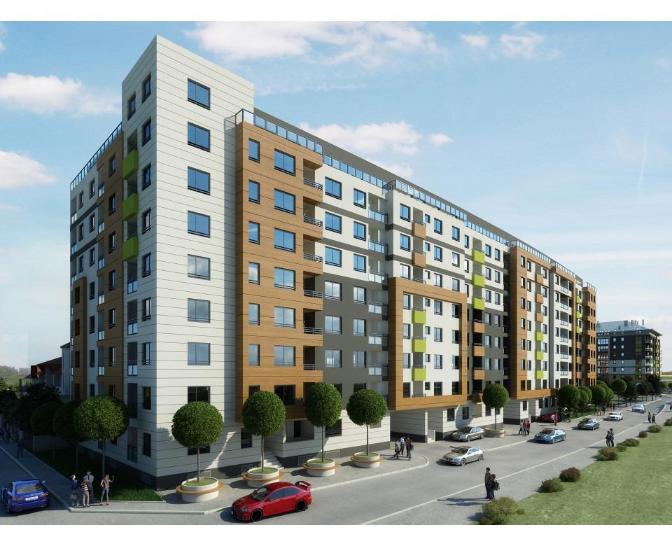 Novogradnja u Zemunu - Stambeno-poslovni kompleks Zelena avenija