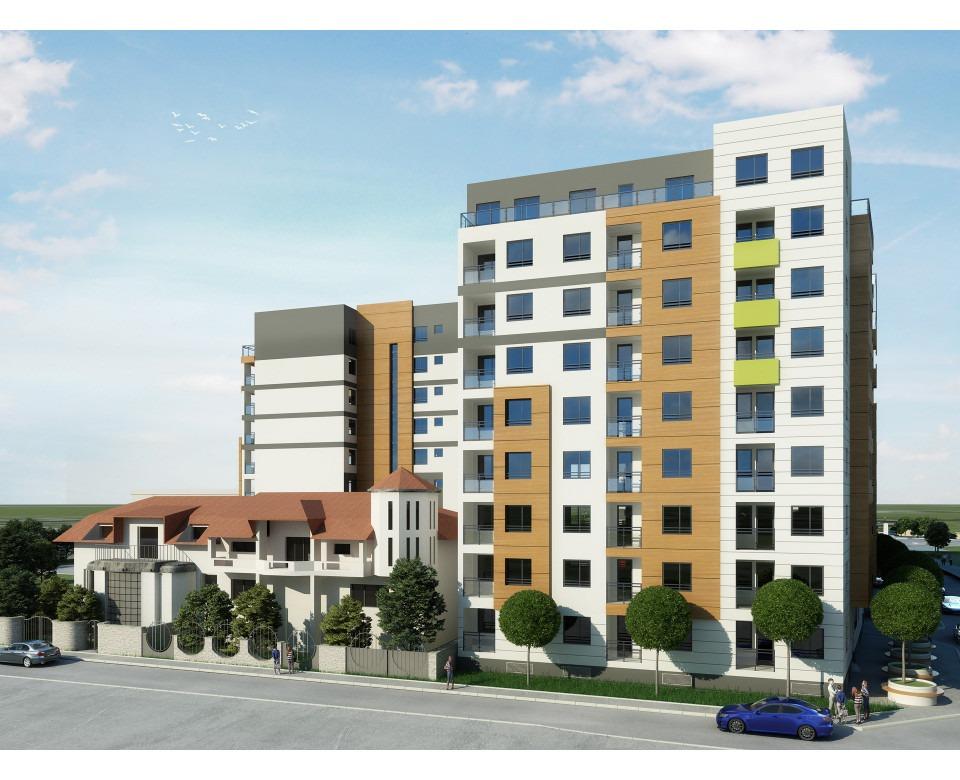 New buildings in Zemun - Residential and commercial complex Zelena avenija