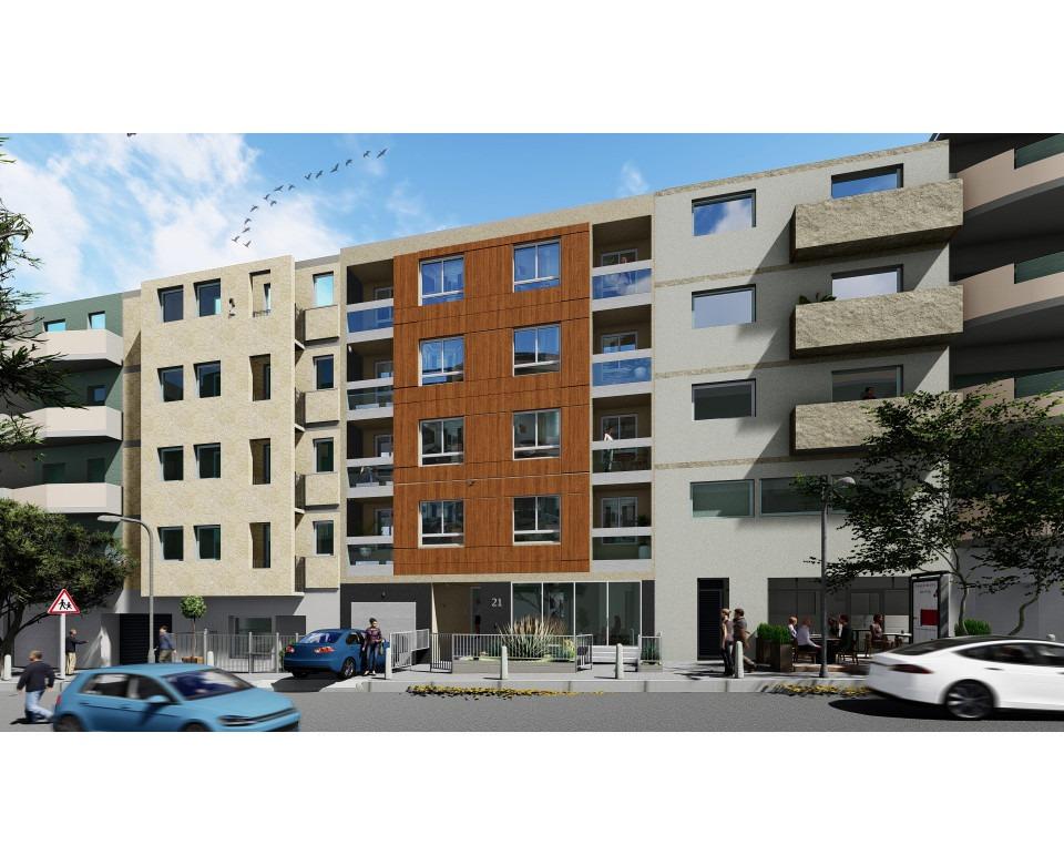 New building in Zvezdara - Residential-commercial building in 21 Banjska Street