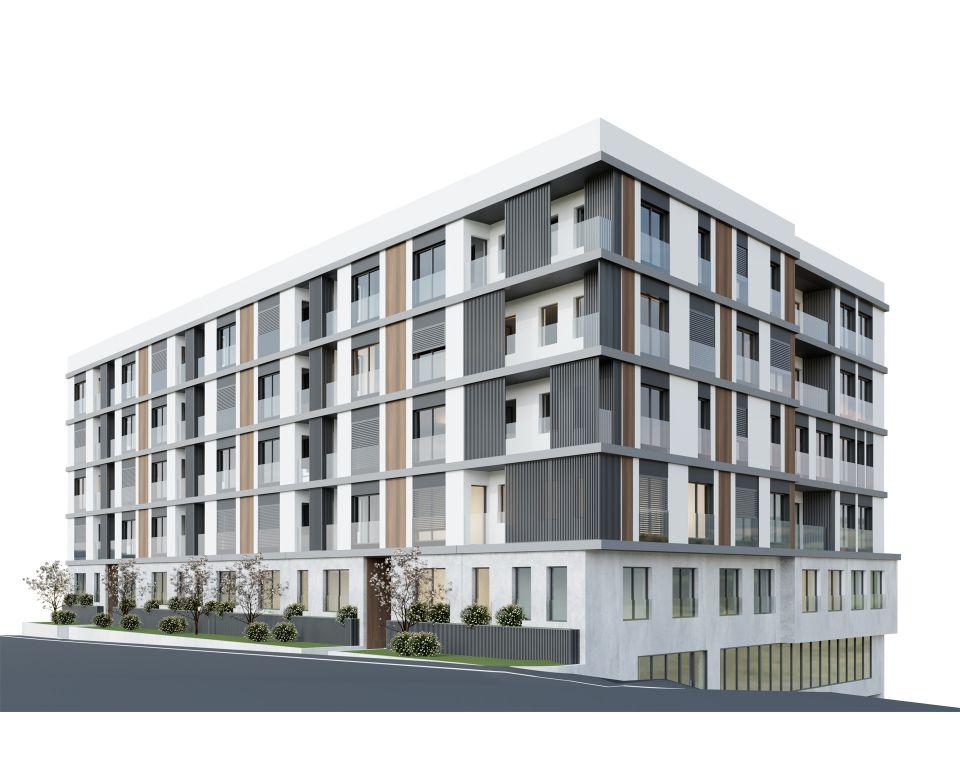 Novogradnja na Zvezdari - Forte MASSIV - Stambeno-poslovni objekat u Đuke Dinić 13