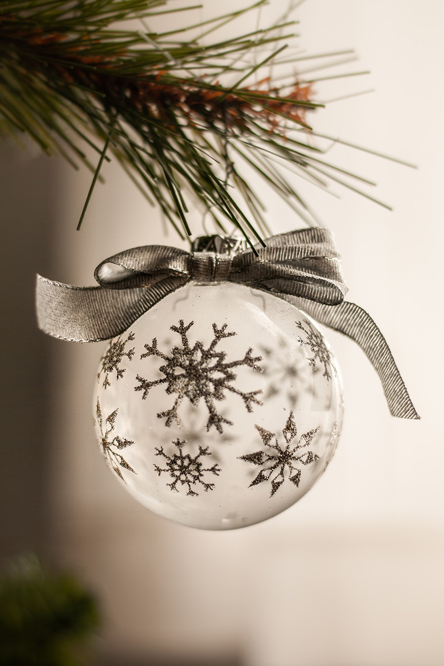 A different way to decorate your home for Christmas - Baubles