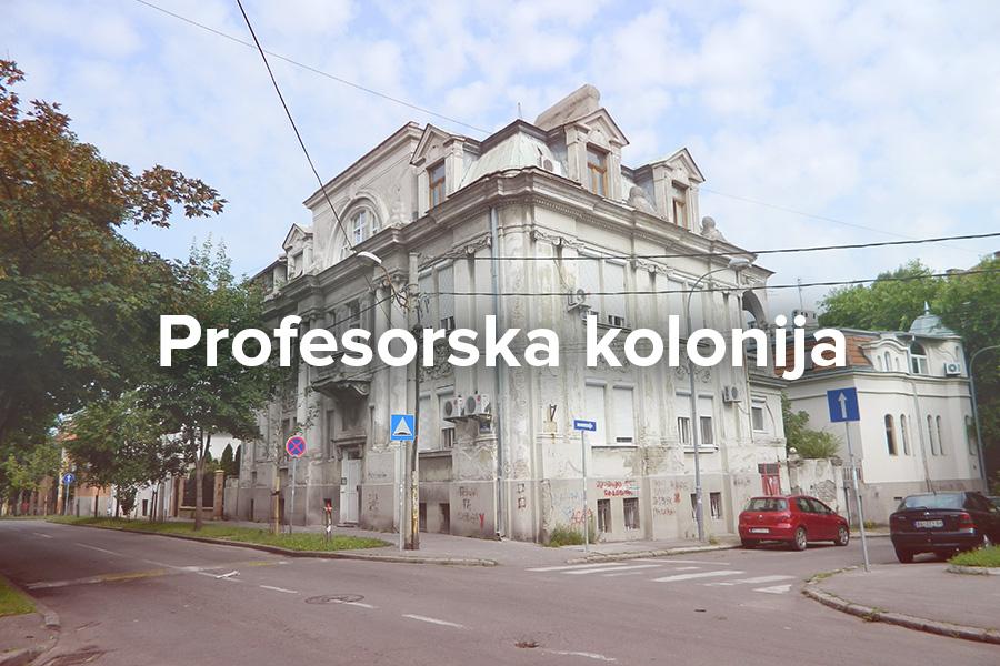 Profesorska Kolonija Ususkana Oaza Mira Sta Pruza Beograd