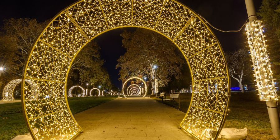 December in Belgrade