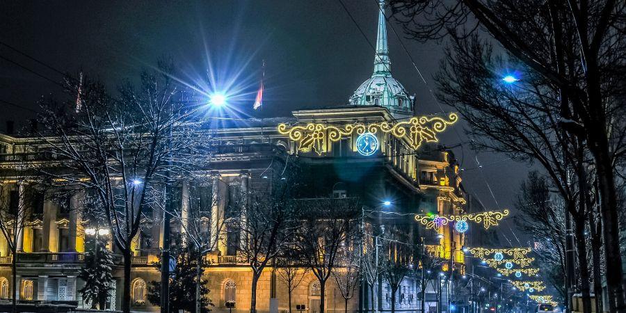 Januar u Beogradu