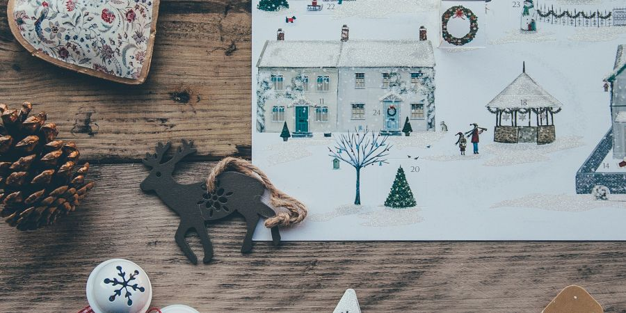 A different way to decorate your home for Christmas