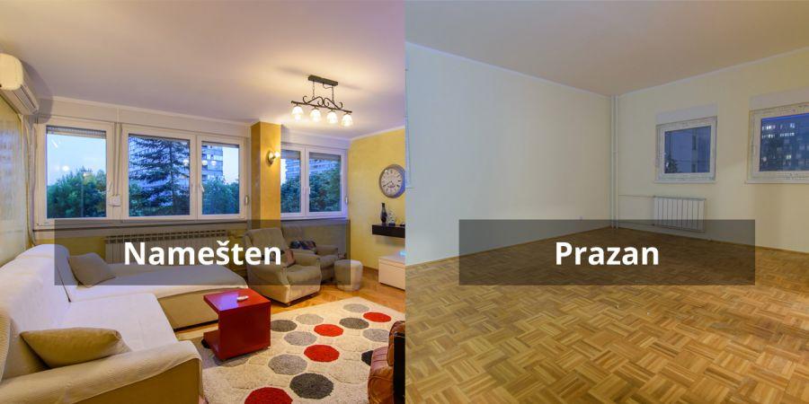 Da li se lakše izdaje namešten ili prazan stan?